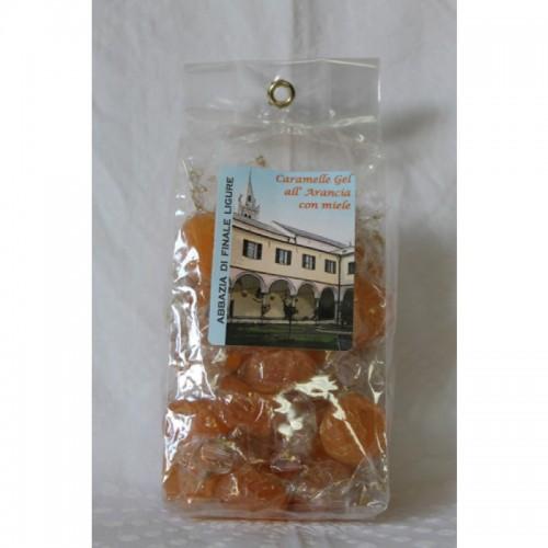 Caramelle Gelatine Arancio/Miele