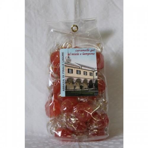 Caramelle Gelatine Lampone/Miele