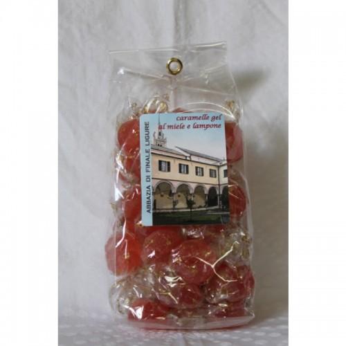 Caramelle Gelatine Lampone/Miele