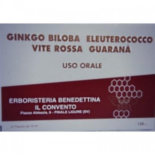 Fiale Ginko Biloba Eleuterococco