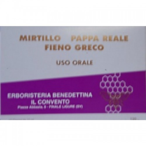 Fiale Mirtillo Fieno Greco