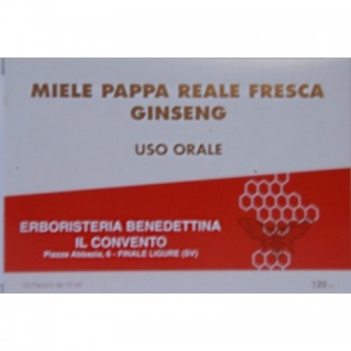 Fiale Miele Pappa Reale Ginseng